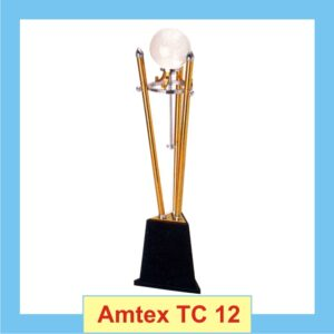Ball Trophy With Conical Metallic Sticks