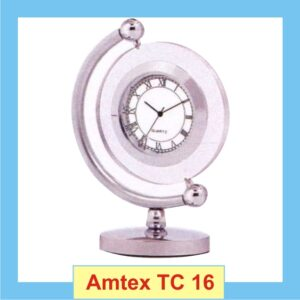 Pivoted Clock with glass frame
