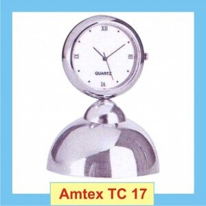 Clock with a stylish stand